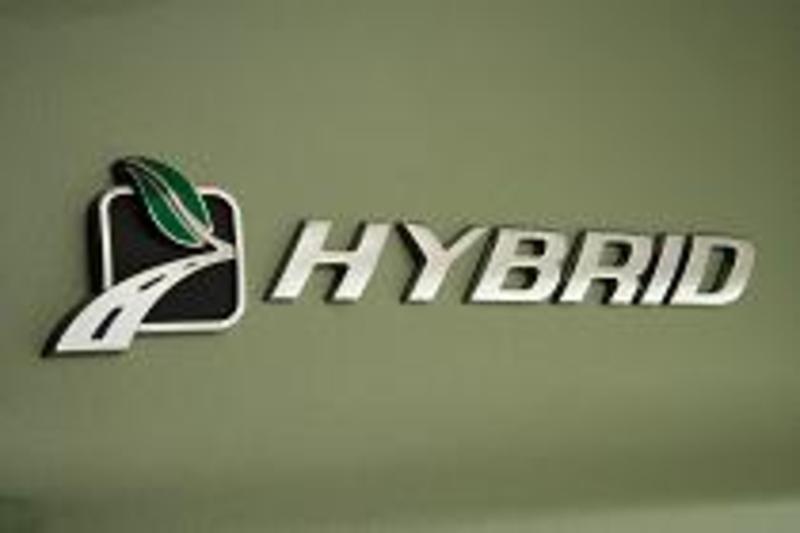 hybrid vehicle symbol