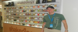 The Shakeology Wall