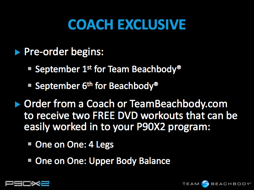 Pre-Order P90X2 Now! | Team Right Now Fitness (Beachbody Coaching)