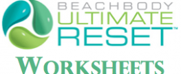Ultimate Reset Worksheets
