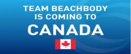 Canada Beachbody Coaching!